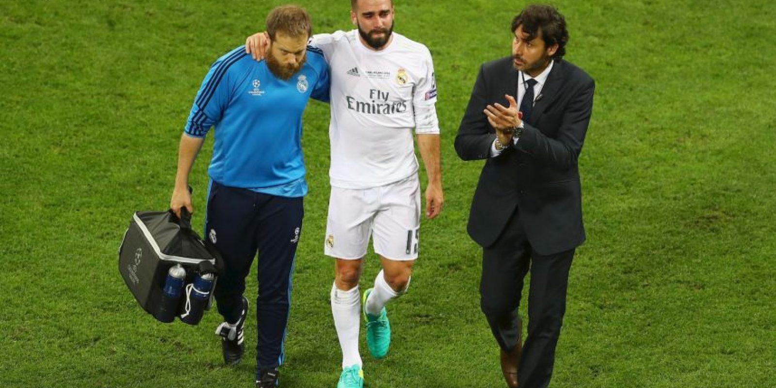 Estaba llamado a ser el titular de la Roja en la Eurocopa, pero se lesionó en la final de la Champions League y tuvo que ser desconvocado por Vicente del Bosque. Sus lágrimas tras lesionarse lo decían todo Foto:Getty Images