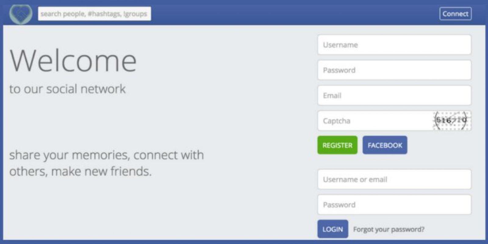Esta era la red social. Foto:Motherboard