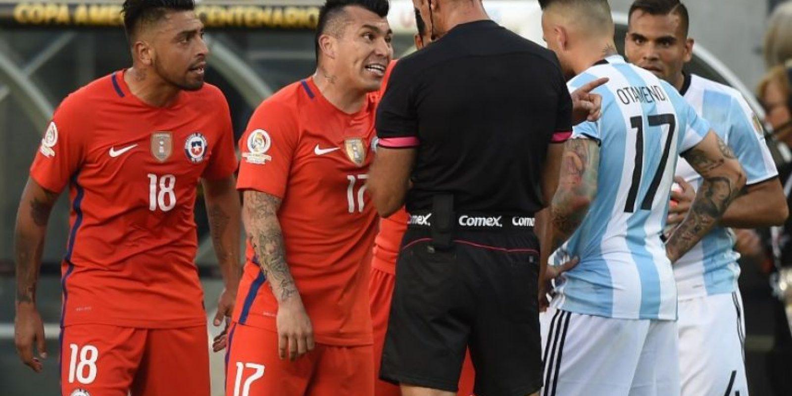Medel luego tuvo que borrar la imagen y pedir disculpas Foto:AFP