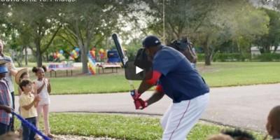 VIDEO: Big Papi estrena nuevo comercial