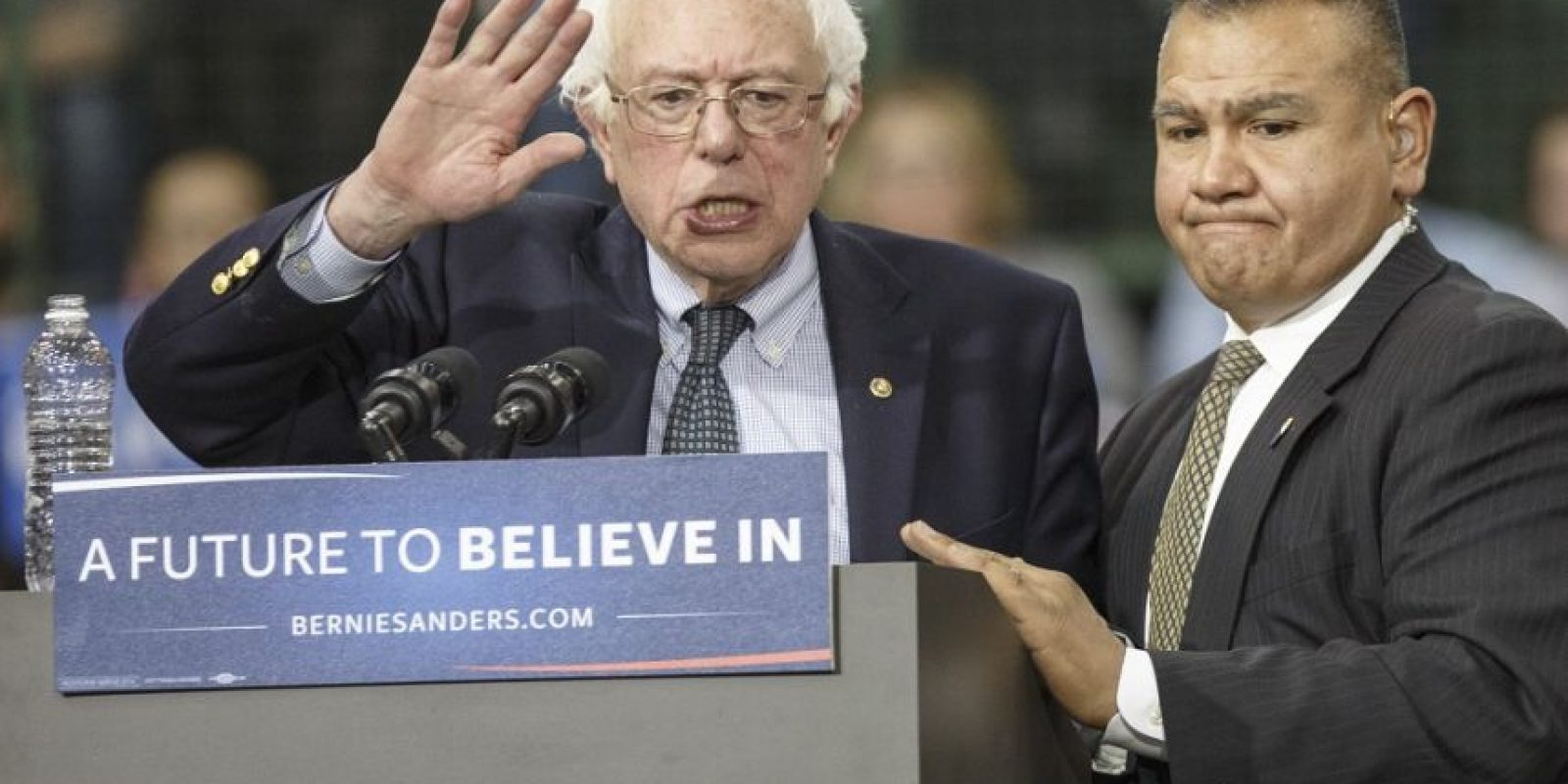 Esta noche podría quedar sellada la nominación de Clinton para competir conDonald Trump. Bernie Sanders (foto) espera impedirlo Foto:Getty