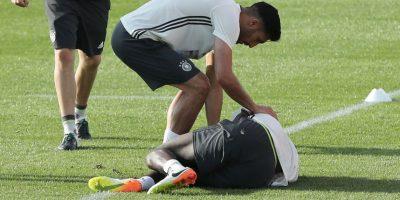 Antonio Rüdiger sufrió una lesión a los ligamentos y no viajó a Francia para la Eurocopa Foto:DPA