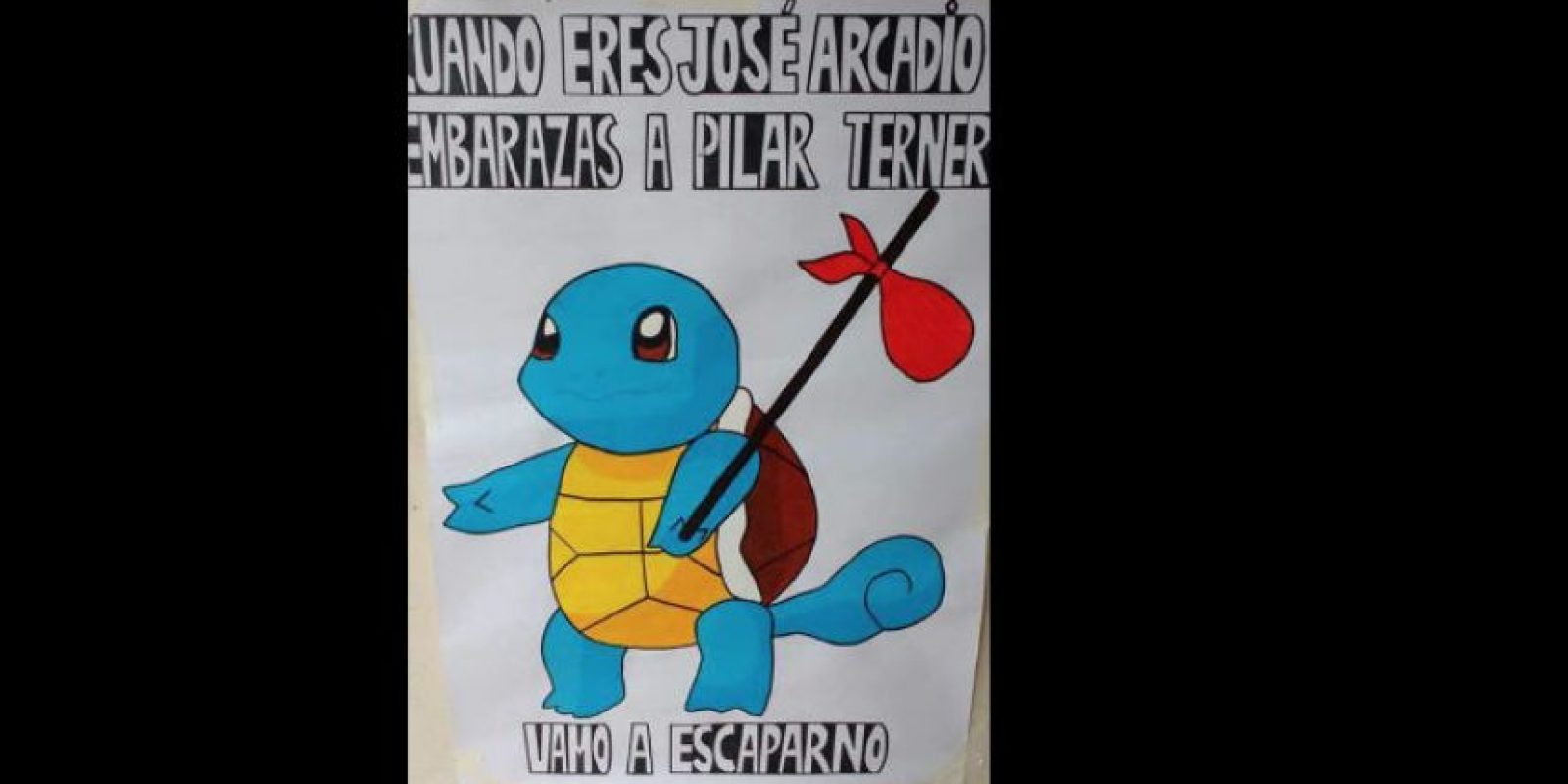 La huida de José Arcadio con los gitanos. Foto:vía Facebook/JackieBreuma
