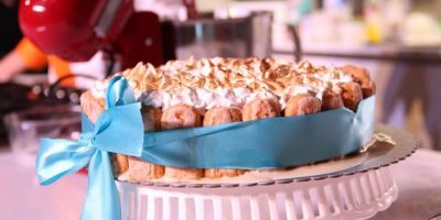 1- Carlota de limón. Es un delicioso postre elaborado con galletas María, ideal para degustar en estas calurosas tardes de verano. Foto:Fuente Externa