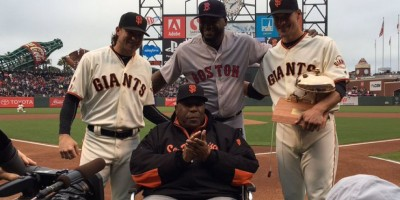 VIDEO: David Ortiz recibe homenaje en San Francisco