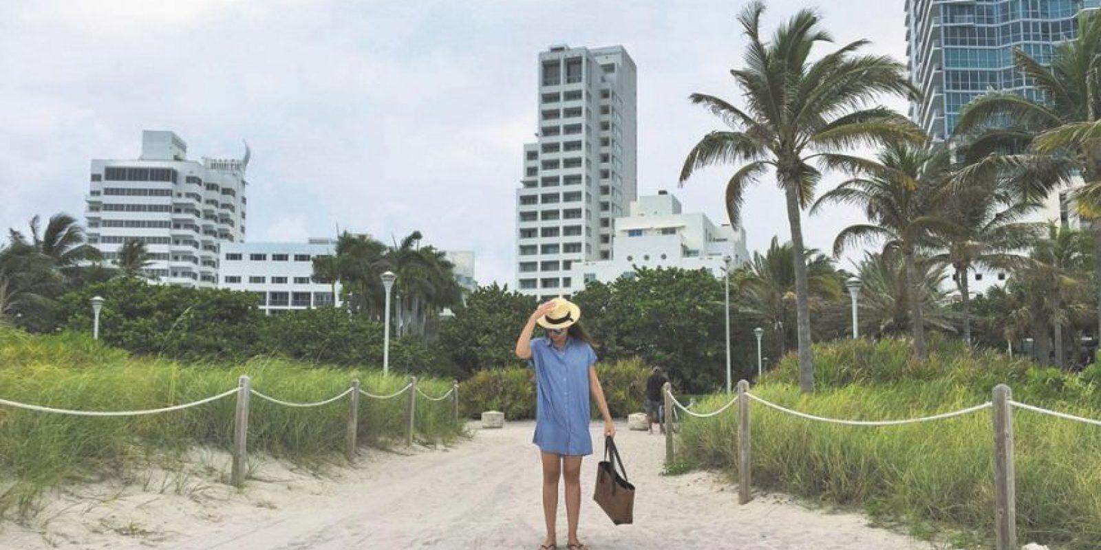 Tarde en Miami Beach. Foto:Fuente externa