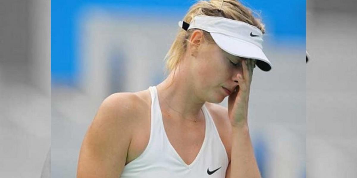 María Sharapova, suspendida dos años por dopaje