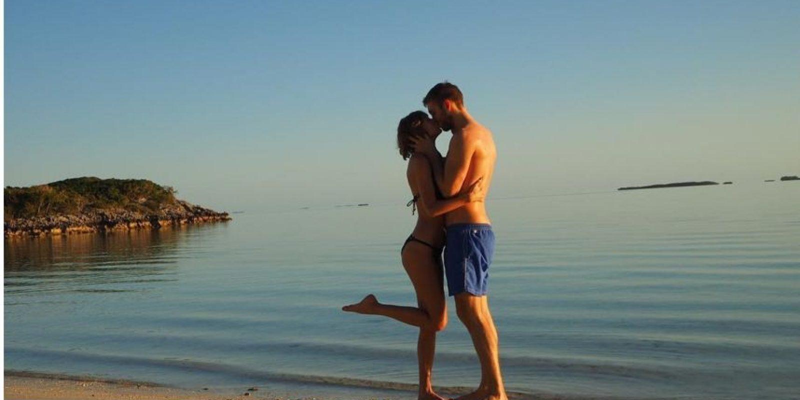 Ya no se repetirá una imagen tan romántica de Taylor Swift y Calvin Harris. Foto:Fuente Externa