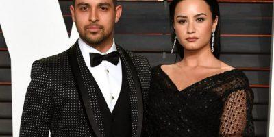 Wilmer Valderrama junto a Demi Lovato. Foto:Fuente Externa