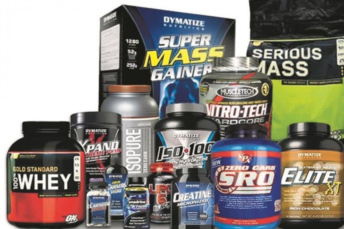Suplementos y vitaminas (RD$15,000 y RD$20,000) Foto:Fuente externa