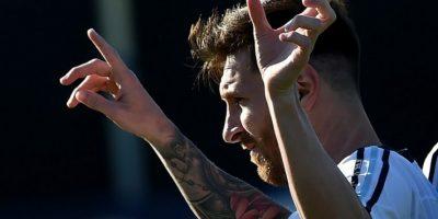 El delantero argentino llegó lesionado a Estados Unidos y se perdió el partido con Chile Foto:AFP