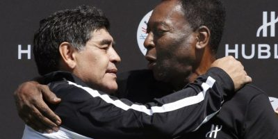 """Maradona hizo las paces con Pelé y le lanzó dardo """"secreto"""" a Messi"""
