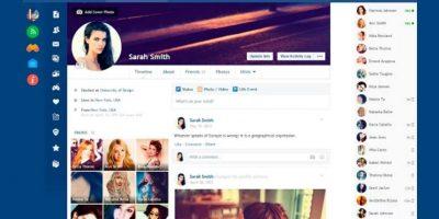Vuelvan más minimalista su Facebook. Foto:Flatbook