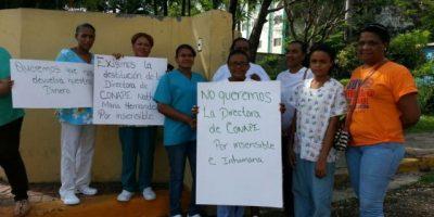 Conape expulsa de asilo a gremios de enfermeras y a Participación Ciudadana