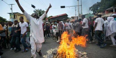 Caos en Haití por invalidación de comicios
