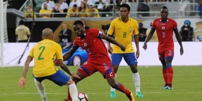 Brasil goleó a Haití en uno de los juegos más importantes de su historia