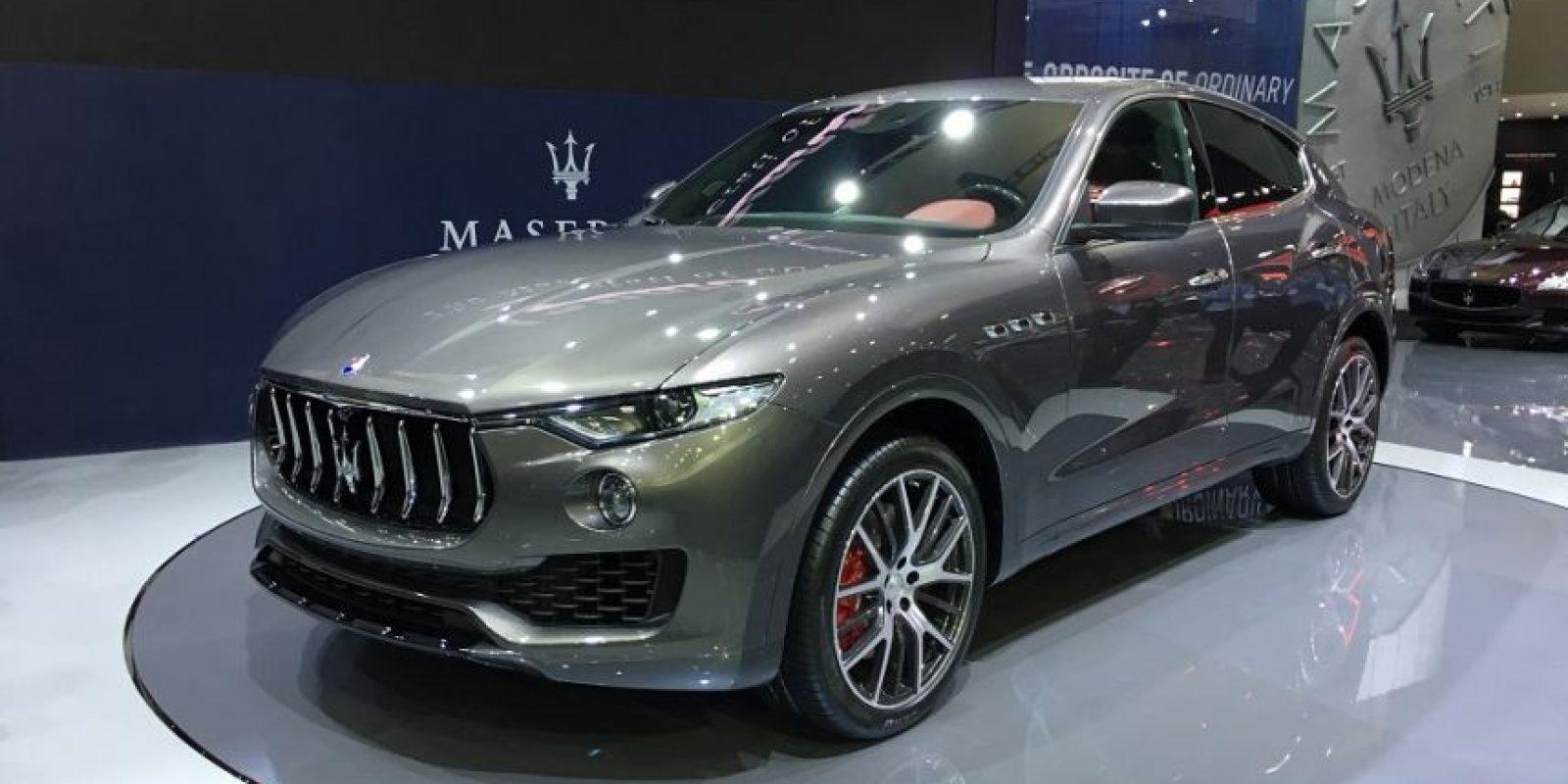 Maserati presentó el Levante, su primera SUV. Foto:Víktor Rodríguez-Velázquez