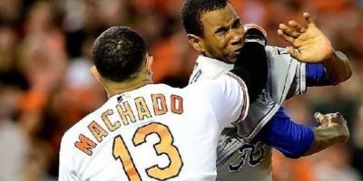 Suspenden a Yordano Ventura y a Manny Machado por trifulca