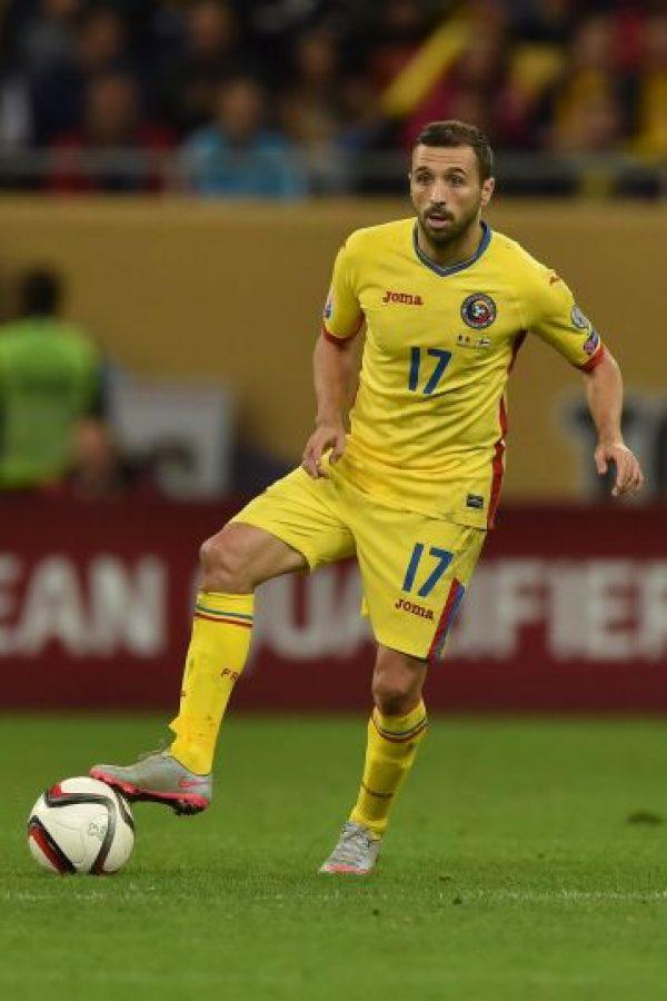 A sus 36 años, es uno de los pilares del mediocampo de Rumania. Puede ser su última Eurocopa y es poco probable que se despida con el título Foto:Getty Images