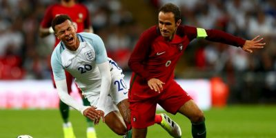 El defensor de 38 años va por su tercera Eurocopa, luego de jugar la del 2004 y 2008, y espera ayudar a Cristiano Ronaldo para que Portugal obtenga su primer título Foto:Getty Images
