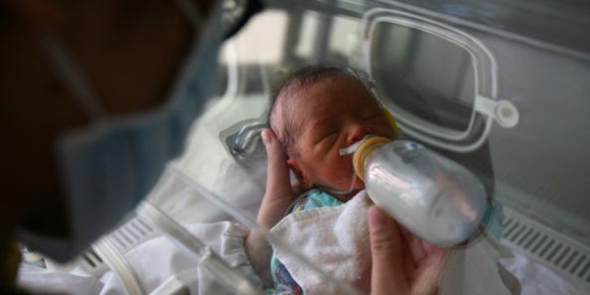 Nace bebé de mujer con muerte cerebral