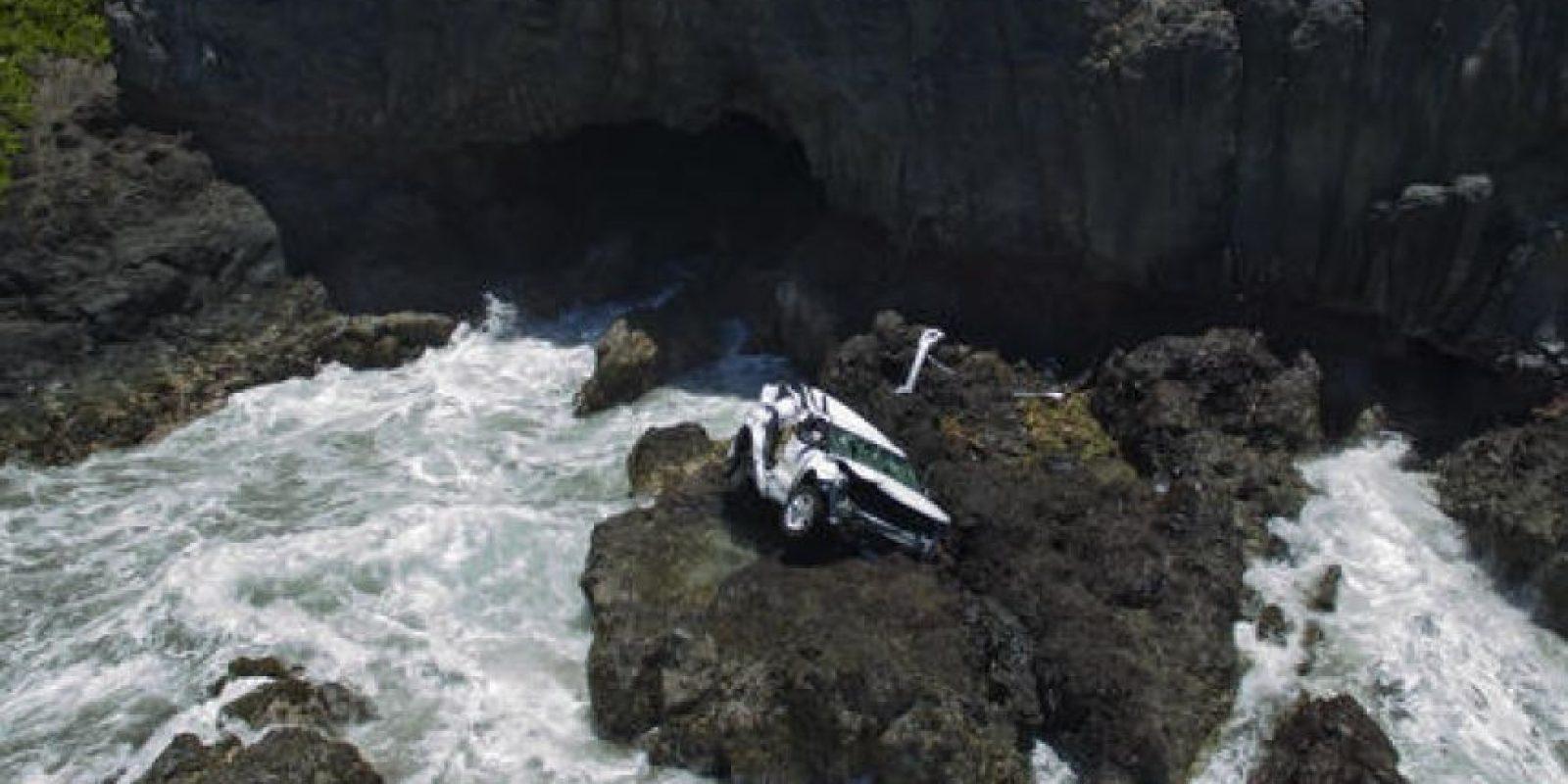Viajaban por Maui, en Hawái Foto:AP