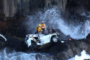 Cuando tuvieron un trágico accidente Foto:AP