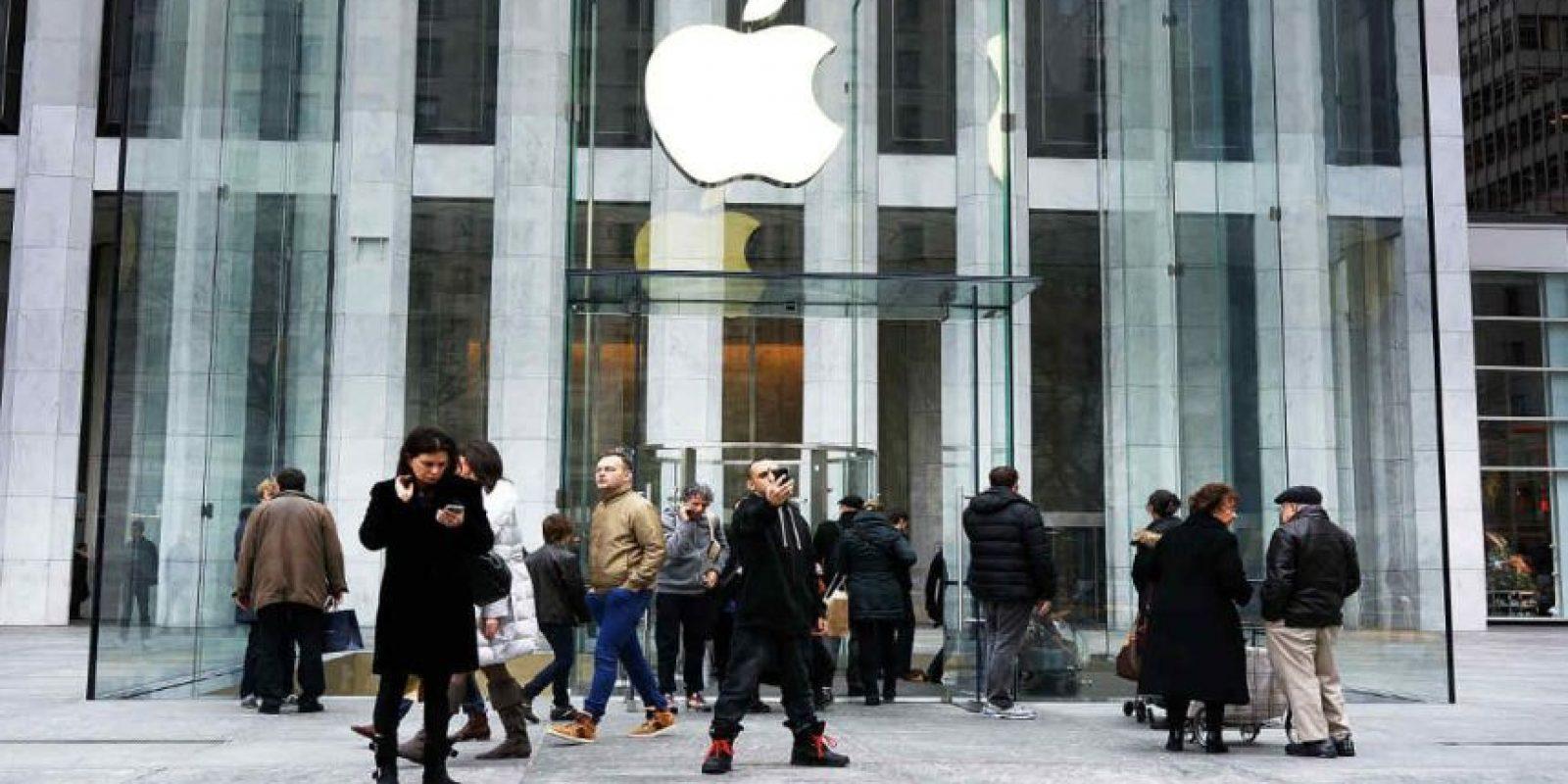 La Apple Store de SoHo en Nueva York es una de las más importantes. Foto:Getty Images