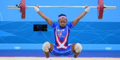 Beatriz Pirón logró un triunfo contundente en su debut en los 53 kilogramos. Foto:Fuente externa