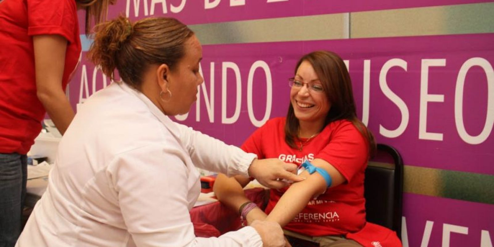 El 20% de la sangre colectada será donada a la Fundación St. Jude Foto:Fuente externa