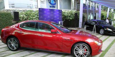 Maserati se pasea por la cuidad de Santiago