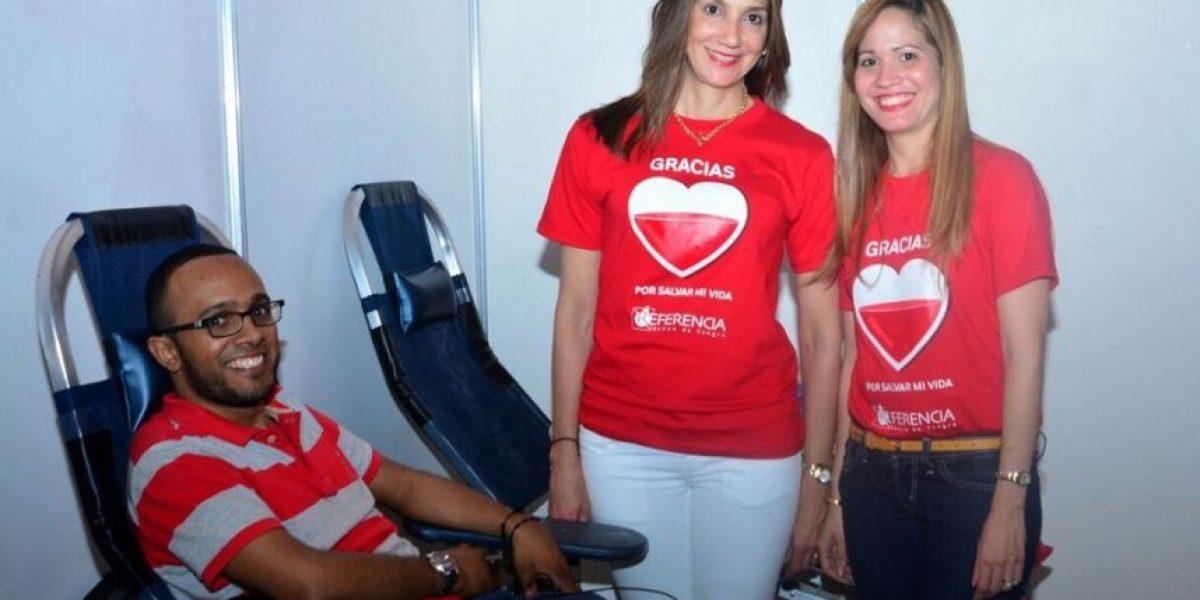 Celebran Día del Donante de Sangre en Sambil
