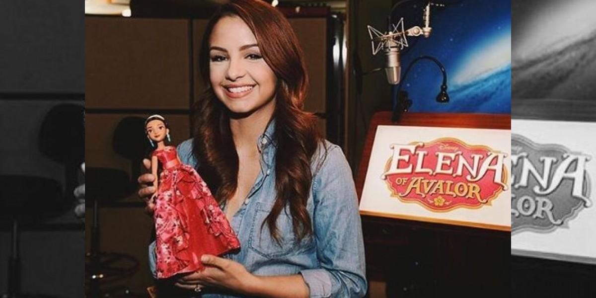 Joven dominicana pondrá su voz a nueva princesa Disney