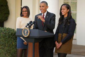 Sasha Obama celebra su cumpleaños 15 Foto:Getty Images