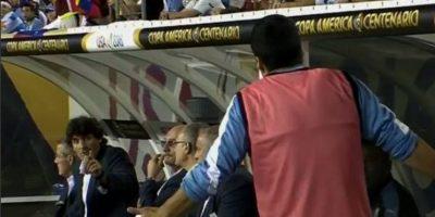 El enojo de Luis Suárez por no entrar ante Venezuela