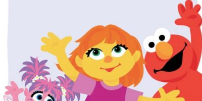 """""""Julia"""" es el primer muppet autista de Plaza Sésamo. Foto:vía Facebook/SesameStreet"""