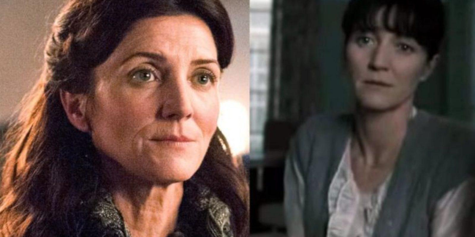 """Michelle Farley fue la mamá de Hermione en """"Harry Potter"""" antes de ser Catelyn Stark. Foto:HBO/Warner"""