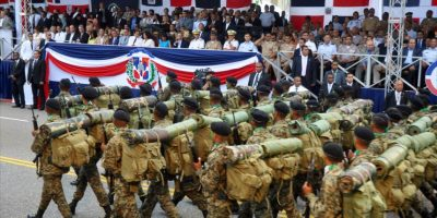 Militares durante el desfile del pasado 27 de Febrero Foto:Fuente Externa