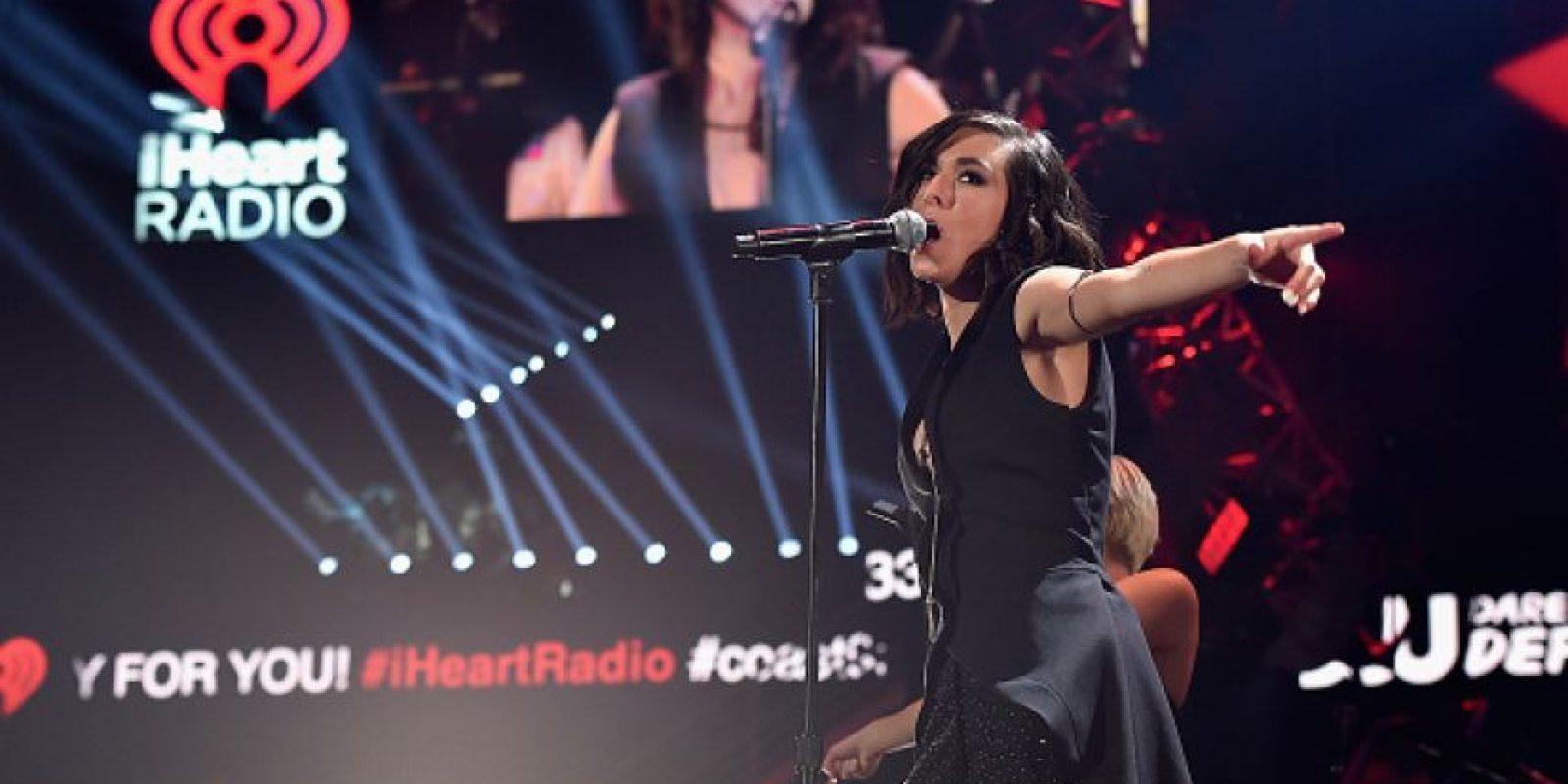 "En The Voice cantó ""Wrecking Ball"" de Miley Cyrus Foto:Getty Images"