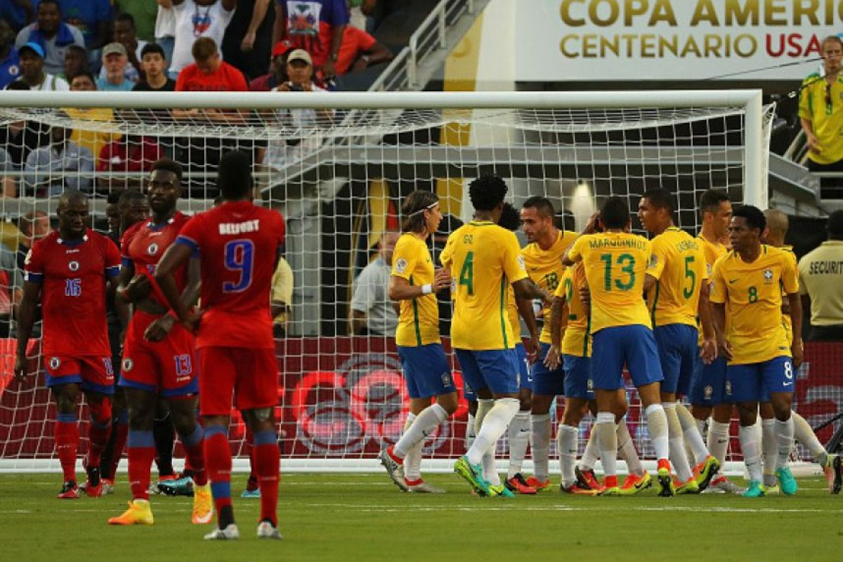Haití espera no ser humillado al nivel de lo que le hizo Brasil Foto:Getty Images