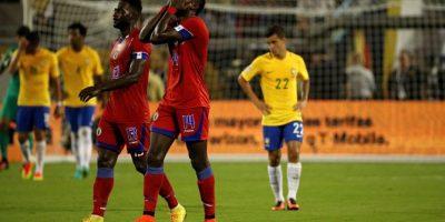 Haití llega absolutamente eliminado a la última fecha del Grupo C Foto:Getty Images