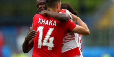 Al fin, Albania perdió por la cuenta mínima Foto:Getty Images