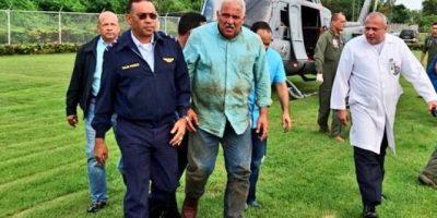 Un muerto en accidente de helicóptero que trasladaba al ministro de Deportes