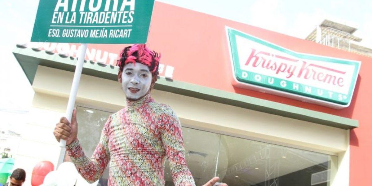 Krispy Kreme en la Avenida Tiradentes
