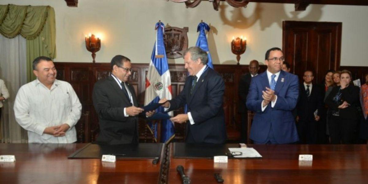 SCJ y OEA acuerda capacitación a jueces para implementar Estado Derecho Ambiental