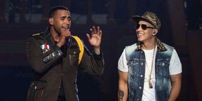 Daddy Yankee y Don Omar Foto:Fuente externa