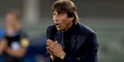 Antonio Conte espera despedirse de Italia con un título. Luego se irá a dirigir a Chelsea Foto:Getty Images