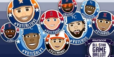 Así andan las votaciones en Liga Americana para Juego de Estrellas 2016