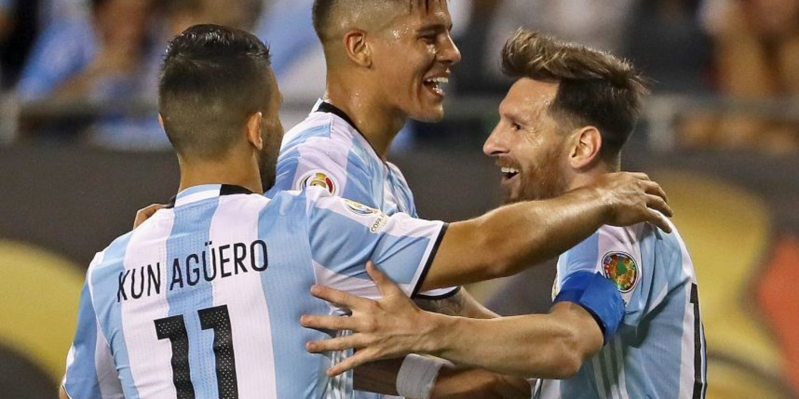 Lionel Messi optó por dejarse crecer la barba Foto: Getty Images