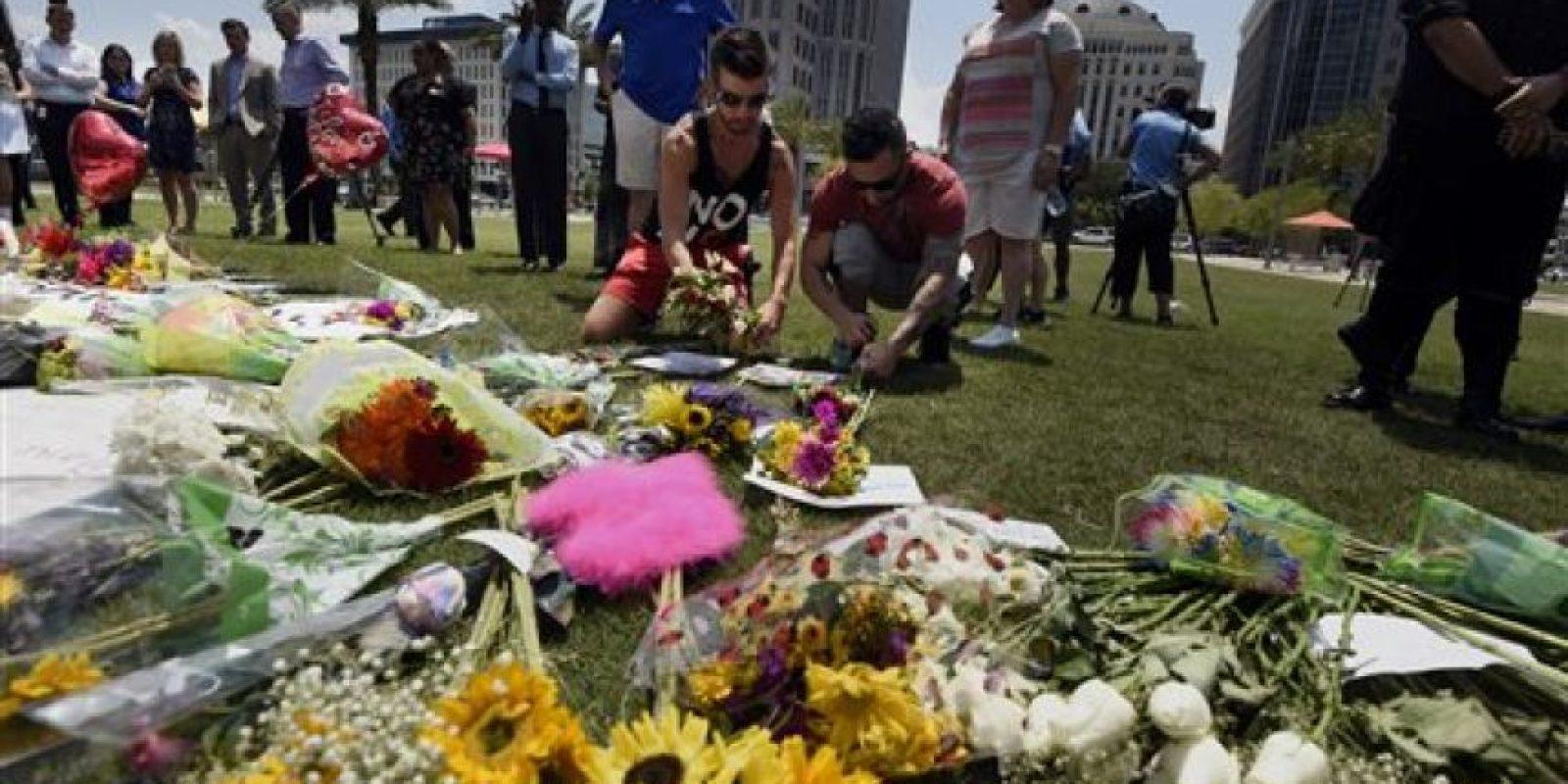 Esto a pesar de que Estados Unidos continúa de luto. Foto:AP